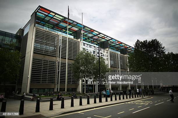 A general view of The Home Office on July 8 2014 in London England Later today senior civil servant Mark Sedwell will face questions from the...