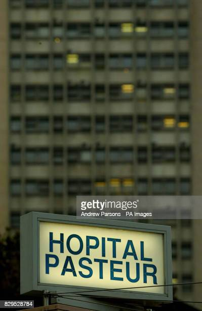 General view of the Hopital Pasteur in the centre of Nice France where Jamila M'Barek is receiving treatment for depression after allegedly admitting...