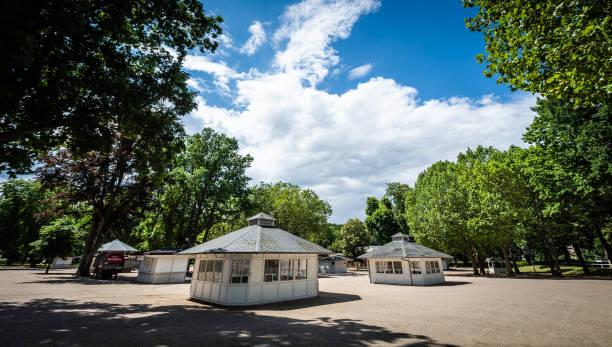 DEU: horse race - general overviews of horse race course in Hoppegarten Berlin