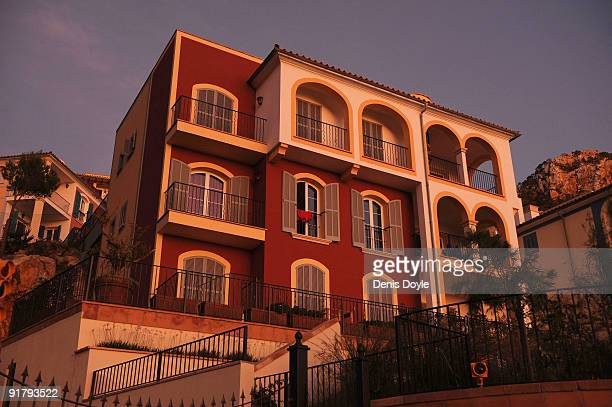 A general view of the house of Andy Cowles the partner of the late Stephen Gately in Andratx on October 12 2009 in Mallorca Spain Boyzone star...