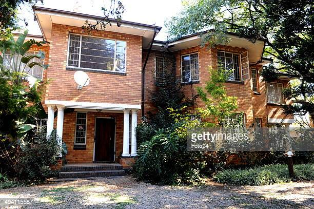 A general view of the house where a father wasbeating and torturing his wife and children on May 27 2014 in Springs South Africa A 36yearold man has...