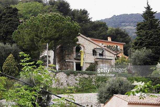 A general view of the house where Nicole Coste is due to take up residence with her son Alexandre taken in May 2002 in Villefranche sur Mer France...
