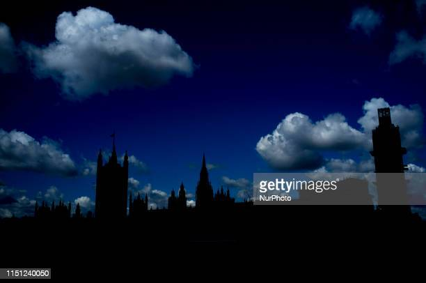 General view of the Houses of Parliament as the race for Conservative Party Leadership sees only Boris Johnson against Foreign Secretary Jeremy Hunt...