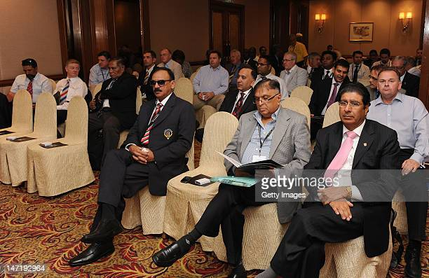A general view of the ICC Members' Seminar convened during the ICC Annual Conference held at the ShangriLa Hotel on June 27 2012 in Kuala Lumpur...