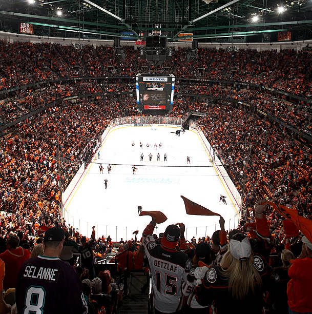 Calgary Flames v Anaheim Ducks - Game Five