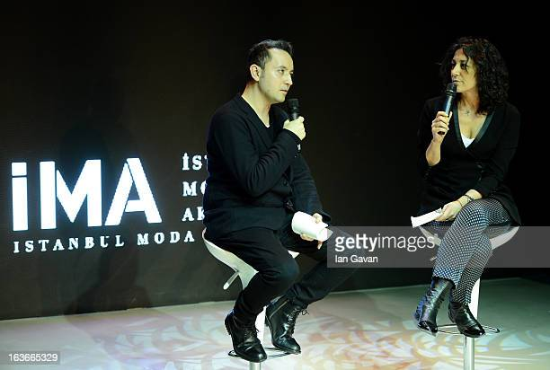 General view of the Ima Workshop 101 with fashion designers Bora Aksu and Mehtap Elaidi during Mercedes-Benz Fashion Week Istanbul Fall/Winter...