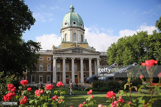 A general view of the Imperial War Museum on July 15 2014 in London England The new World War One galleries at the Imperial War Museum are due to...