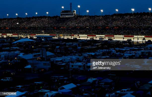 General view of the infield during the NASCAR Sprint Cup Series Bojangles' Southern 500 at Darlington Raceway on May 12, 2012 in Darlington, South...