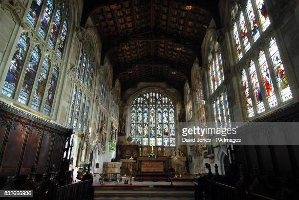 General view of the inside of Holy Trinity Church in Stratford-upon-Avon, where William Shakespeare worshipped and is buried, which urgently needs up...