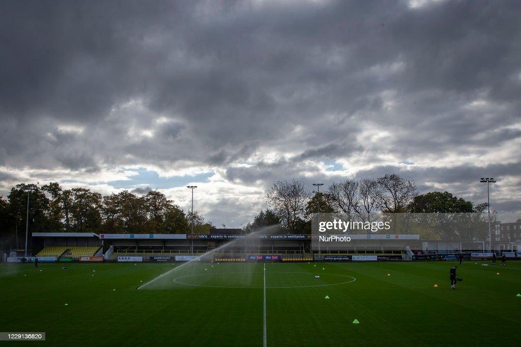 Harrogate Town v Barrow - Sky Bet League 2 : News Photo