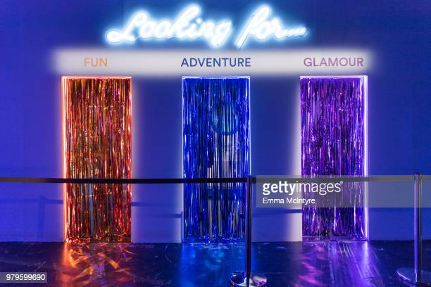 A general view of the installations at Refinery29's '29Rooms San Francisco Turn It Into Art' on June 20 2018 in San Francisco California
