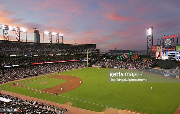 General view of the interior of AT&T Park during a game between the San Francisco Giants and the Atlanta Braves on July 23, 2007 at AT&T Park in San...