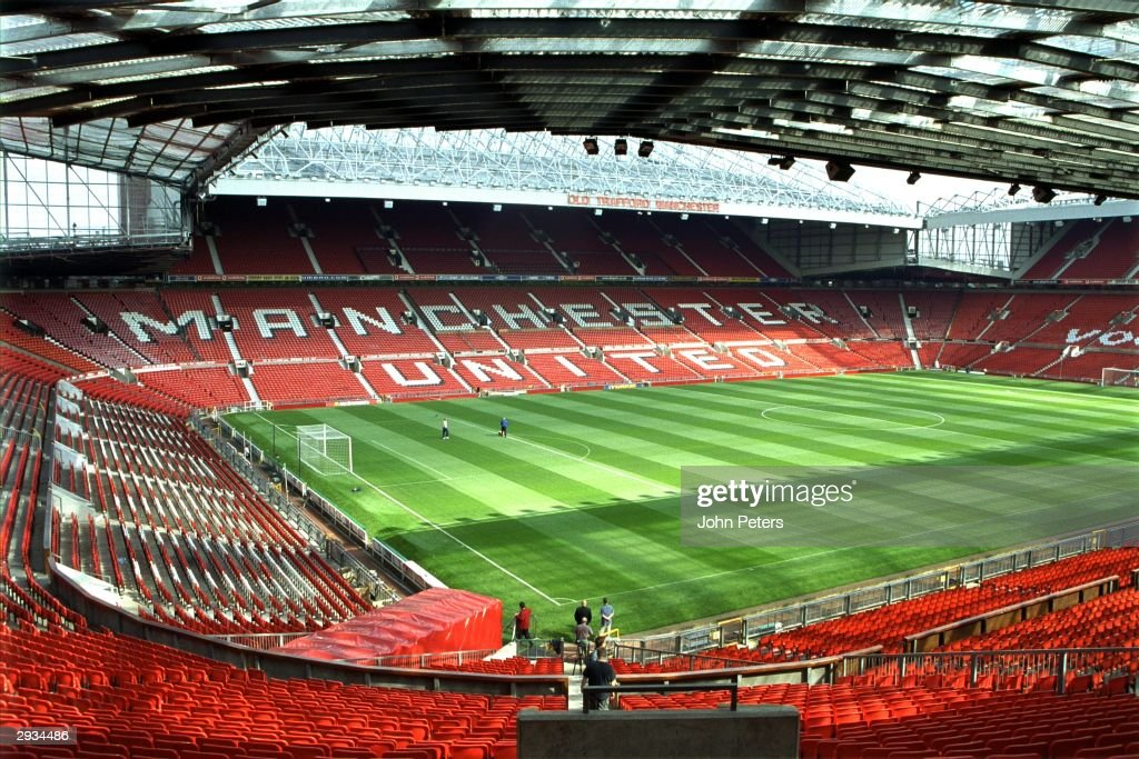 Old Trafford Interior : News Photo