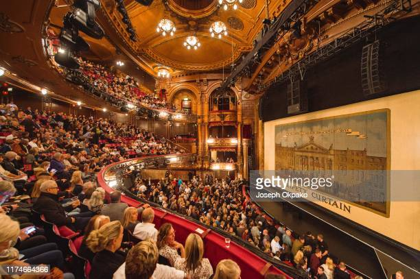General view of the interior of the London Palladium where Beverley Knight performed on October 8 2019 in London England