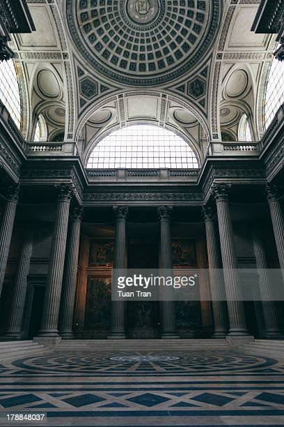 A general view of the interior of the Pantheon in Paris France on December 15 2010
