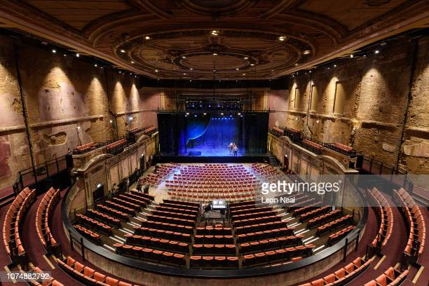 A general view of the interior of the restored Alexandra Palace Theatre at Alexandra Palace on November 30 2018 in London England Originally opened...