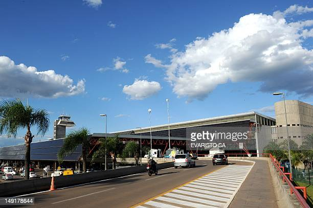 General view of the International Airport of Brasilia on February 6 2012 The Brazilian government privatized three airports ahead of the 2014 World...