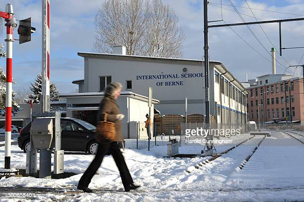 General view of the International School of Berne on December 19, 2011 in Guemligen, Berne, Switzerland. Following the death of North Korean leader...