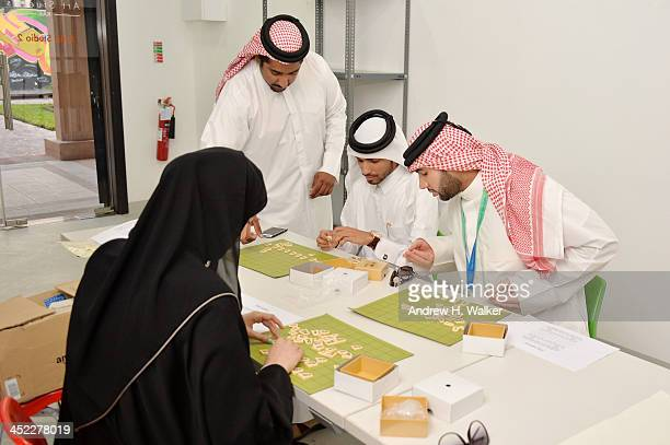 A general view of the 'Introduction of Shogi' during day 2 of Ajyal Youth Film Festival on November 27 2013 in Doha Qatar