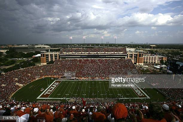 General view of the Iowa State Cyclones and the Texas Longhorns on September 23, 2006 at Texas Memorial Stadium in Austin, Texas.