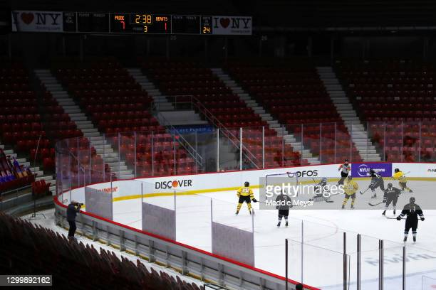 General view of the Isobel Cup Game between the Buffalo Beauts and the Boston Pride at Herb Brooks Arena on February 01, 2021 in Lake Placid, New...