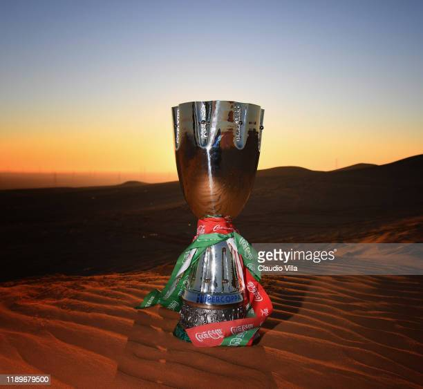 A general view of the Italian Supercup on December 20 2019 in Riyadh Saudi Arabia