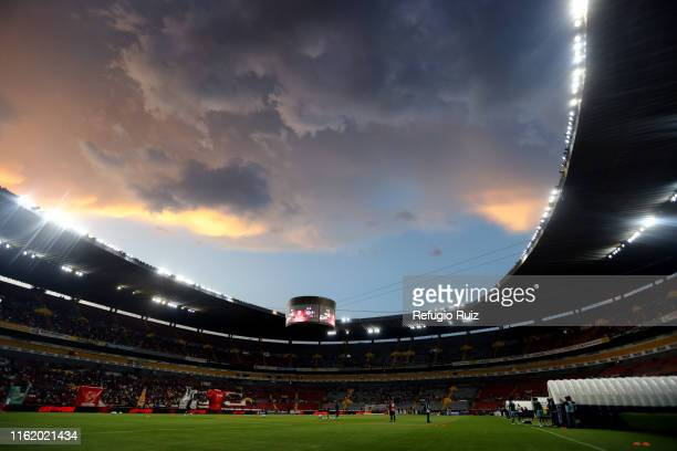 General view of the Jalisco stadium before the 5th round match between Atlas and Cruz Azul as part of the Torneo Apertura 2019 Liga MX at Jalisco...