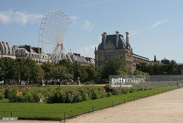 A general view of the Jardin des Tuileries photographed on August 21 2007 in Paris France