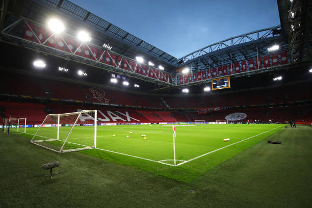 NLD: AFC Ajax v Lille OSC  - UEFA Europa League Round Of 32 Leg Two