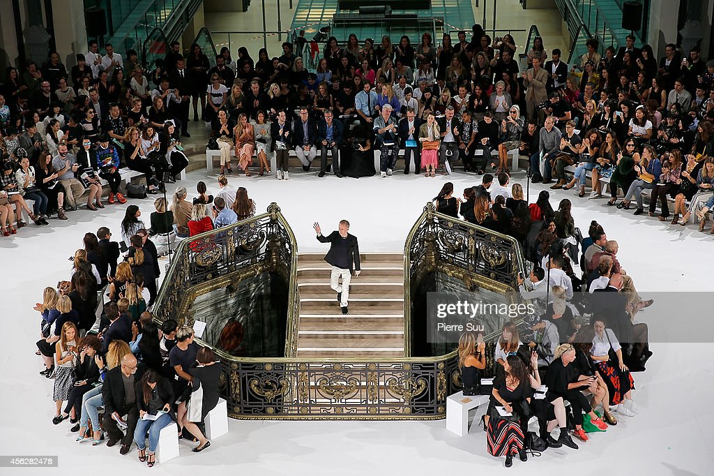 A general view of the John Galliano show as part of the Paris Fashion Week Womenswear Spring/Summer 2015 on September 28, 2014 in Paris, France.