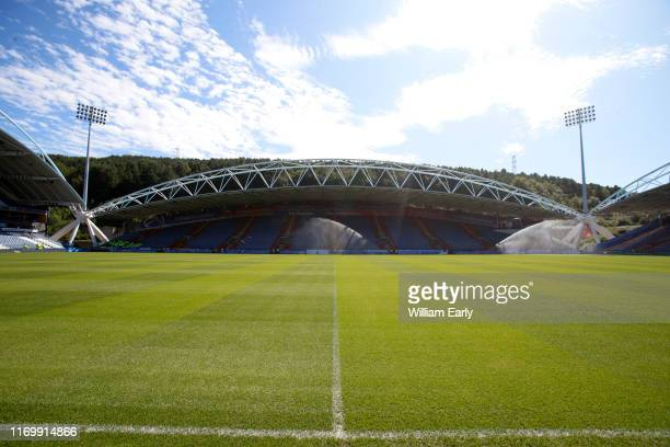 General view of the John Smith's Stadium before the Sky Bet Championship match between Huddersfield Town and Reading at John Smith's Stadium on...