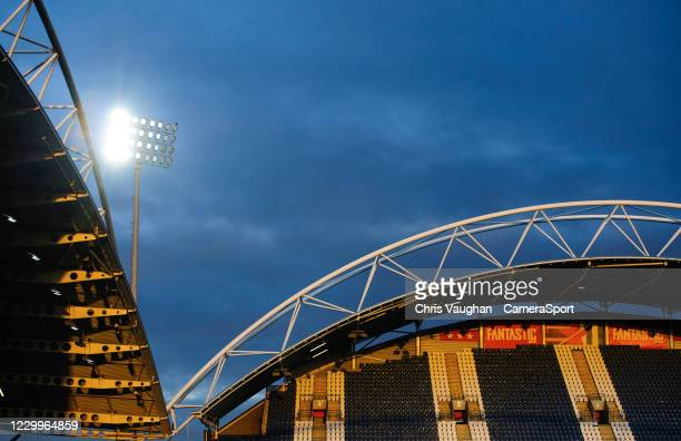 General view of The John Smith's Stadium, home of Huddersfield Town during the Sky Bet Championship match between Huddersfield Town and Queens Park...