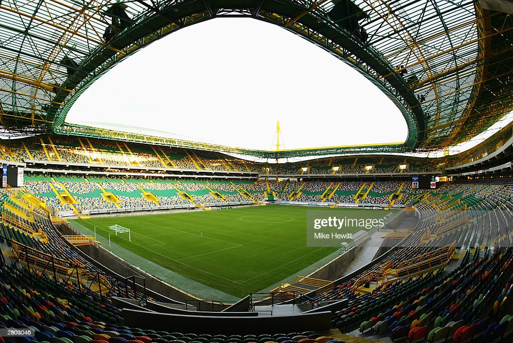 General view of the Jose Alvalade Stadium home to Sporting Lisbon taken during a photoshoot held on December 2, 2003 in Lisbon, Portugal. The stadium will be used as one of the venues for the UEFA European Championships in 2004 which are to be held in Portugal.