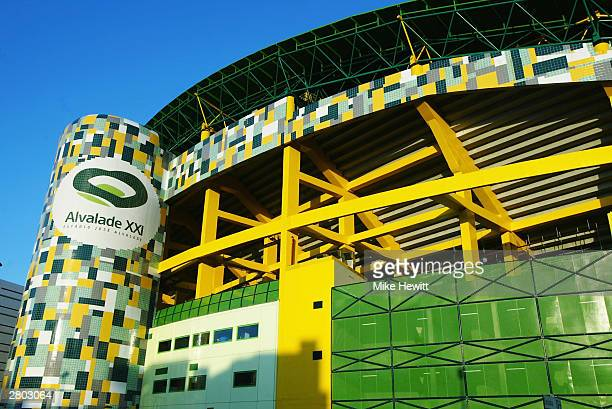 General view of the Jose Alvalade Stadium home to Sporting Lisbon taken during a photoshoot held on December 2, 2003 in Lisbon, Portugal. The stadium...