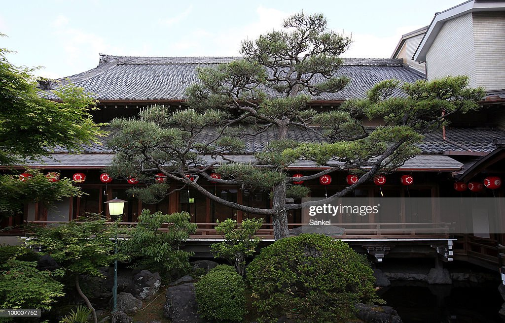 General view of the Kamishichiken Kaenbujo is seen on May 13, 2010 in Kyoto, Japan.