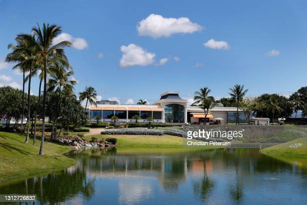 General view of the Kapolei Golf Club clubhouse during the second round of the LPGA LOTTE Championship on April 15, 2021 in Kapolei, Hawaii.