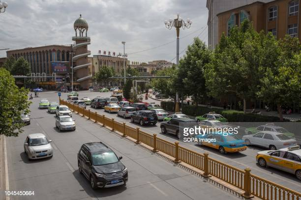 A general view of the Kashgar new town northwestern Xinjiang Uyghur Autonomous Region in China Kashgar is located in the north western part of...