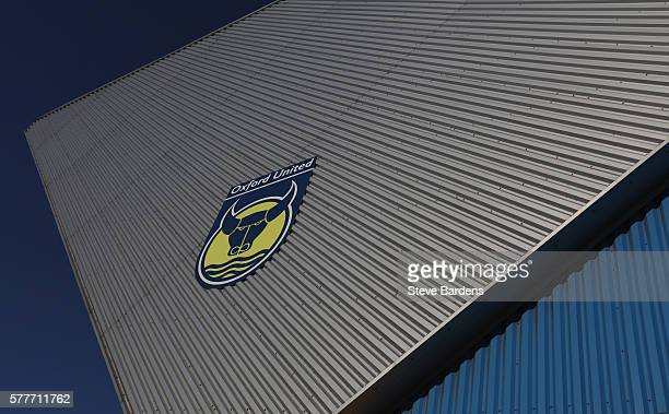 General view of the Kassam Stadium prior to the preseason friendly between Oxford United and Leicester City at Kassam Stadium on July 19 2016 in...