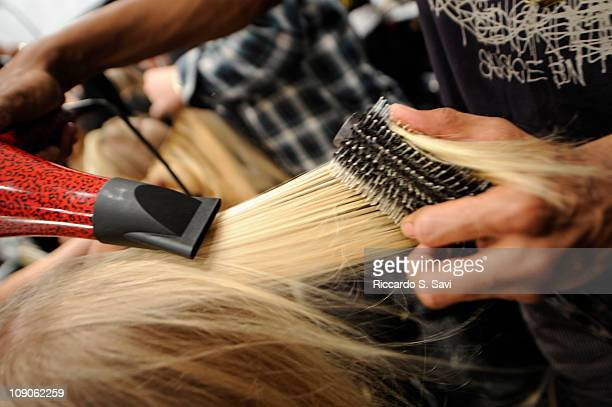 General view of the Kerastase at Tory Burch Fall 2011 show during MercedesBenz fashion week at The Studio at Lincoln Center on February 13 2011 in...