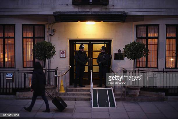 A general view of the King Edward VII Private Hospital on December 5 2012 in London England Catherine Duchess of Cambridge is spending a third day in...