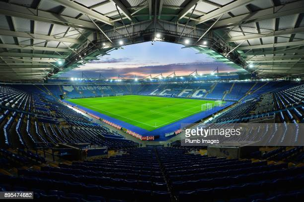 A general view of the King Power Stadium ahead of the Carabao Cup QuarterFinal match between Leicester City and Manchester City at King Power Stadium...