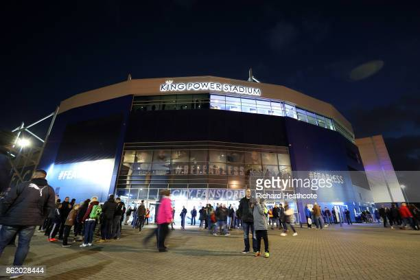 A general view of The King Power Stadium ahead of the Premier League match between Leicester City and West Bromwich Albion at The King Power Stadium...