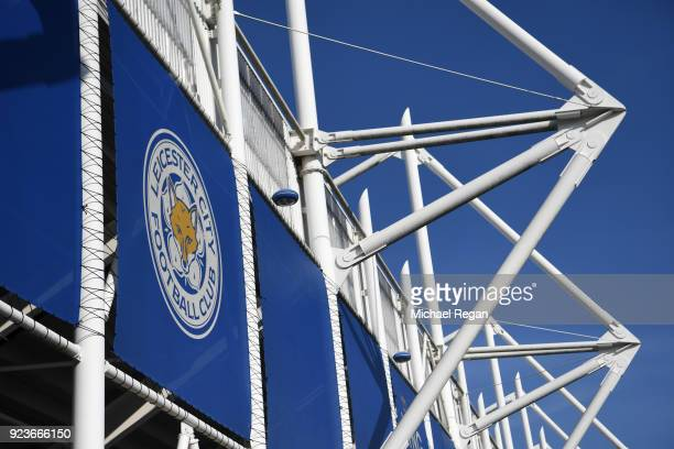 A general view of The King Power Stadium ahead of the Premier League match between Leicester City and Stoke City at The King Power Stadium on...