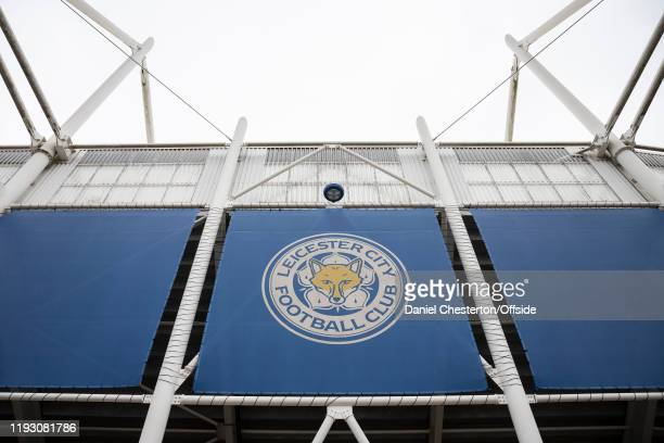 A general view of The King Power Stadium before the Premier League match between Leicester City and Southampton FC at The King Power Stadium on...