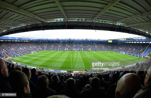 A general view of the King Power Stadium during of the Premier League match between Leicester City and Watford at King Power Stadium on May 06 2017...