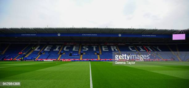 A general view of the King Power Stadium during the Premier League Match between Leicester City and Newcastle United at The King Power Stadium on...