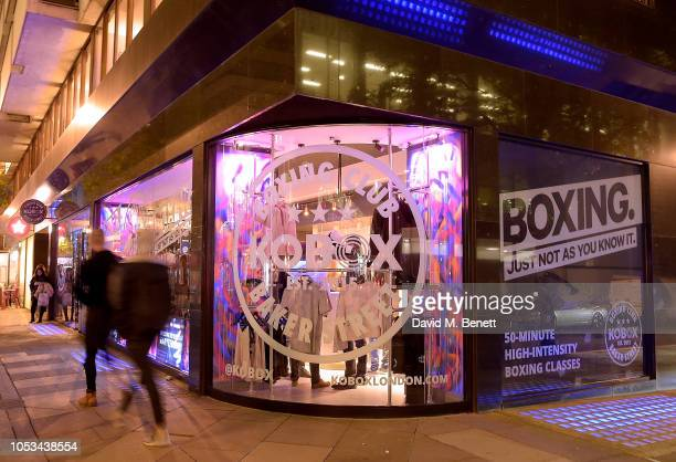 A general view of the KOBOX Baker Street studio during the launch on October 25 2018 in London England