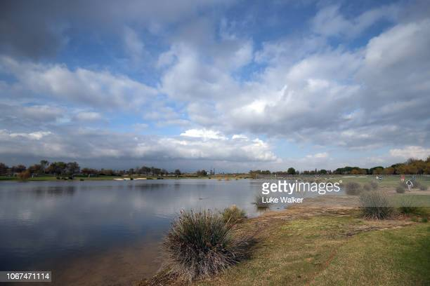 A general view of the Lakes golf course during Day Five of the European Tour Qualifying School Final Stage at Lumine Golf Club on November 14 2018 in...