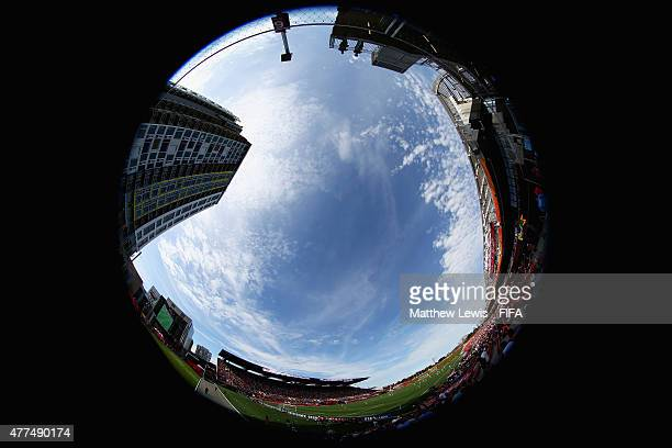 A general view of the Lansdowne Stadium during the FIFA Women's World Cup 2015 Group F match between Mexico and France at Lansdowne Stadium on June...