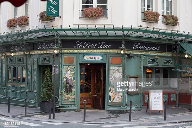 A general view of the 'Le Petit Zinc' restaurant on January 27 2014 in Paris France